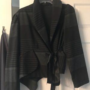 Jackets & Blazers - Asymmetric jacket